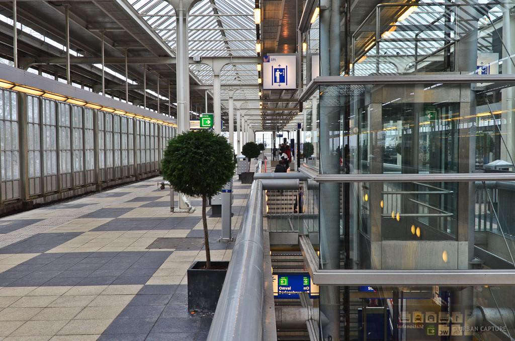 Amstel Train Station Amsterdam Urban Capture Travel