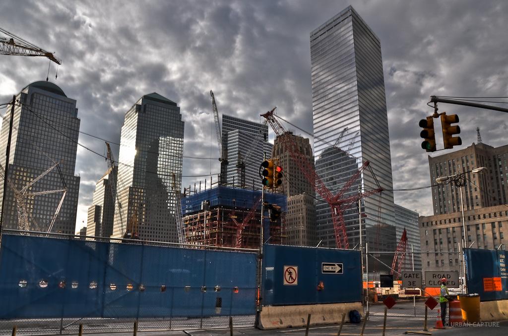 World trade center ground zero new york