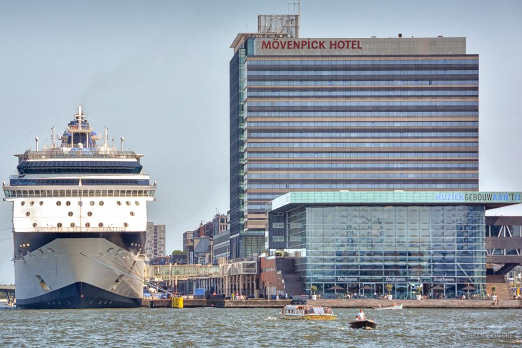 Cruise Ship Passenger Terminal Amsterdam The Netherlands URBAN - Amsterdam cruise ship