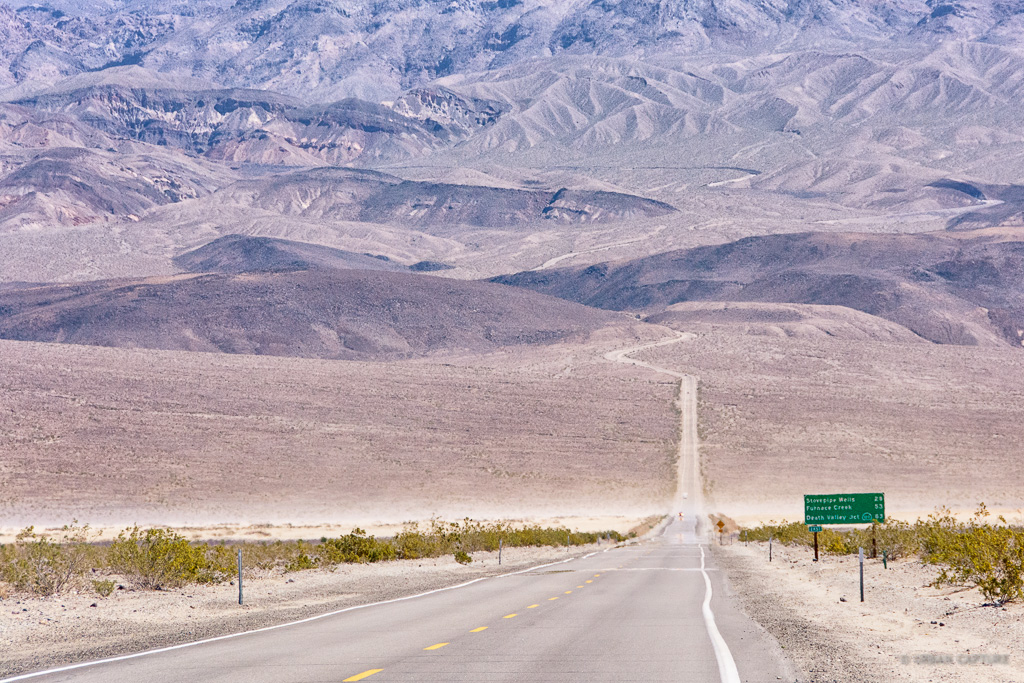 Death Valley National Park West Entrance California United States