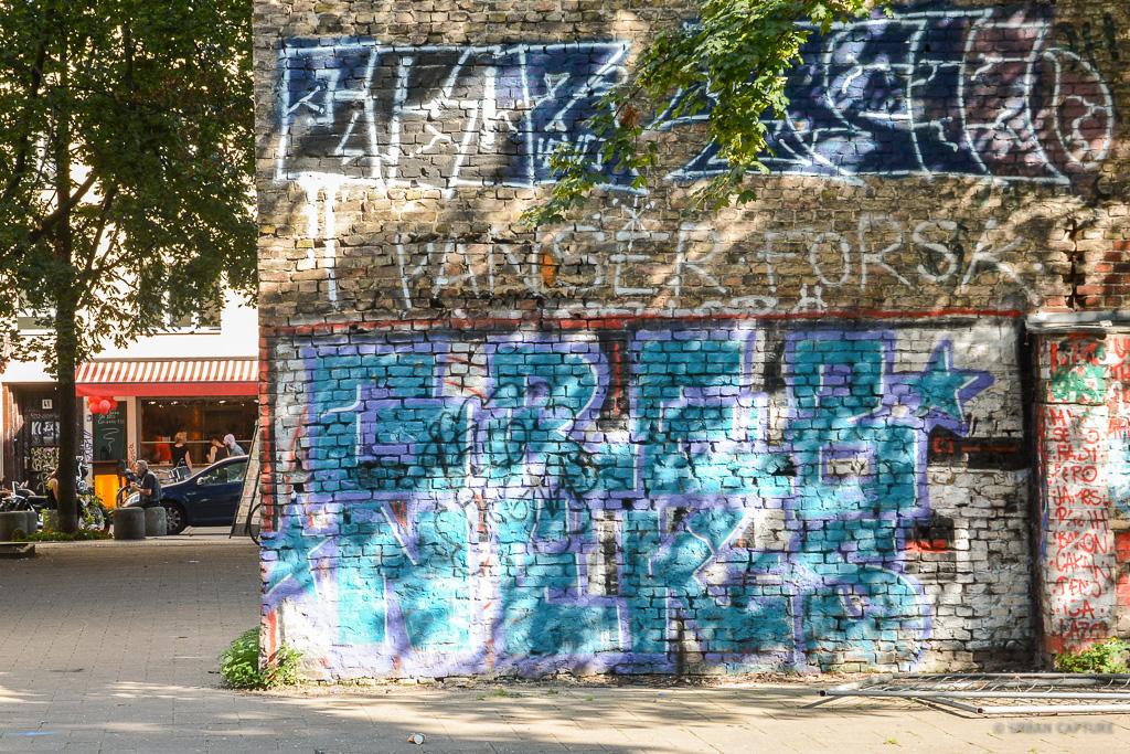 Kreuzberg Graffiti Berlin Germany Urban Capture