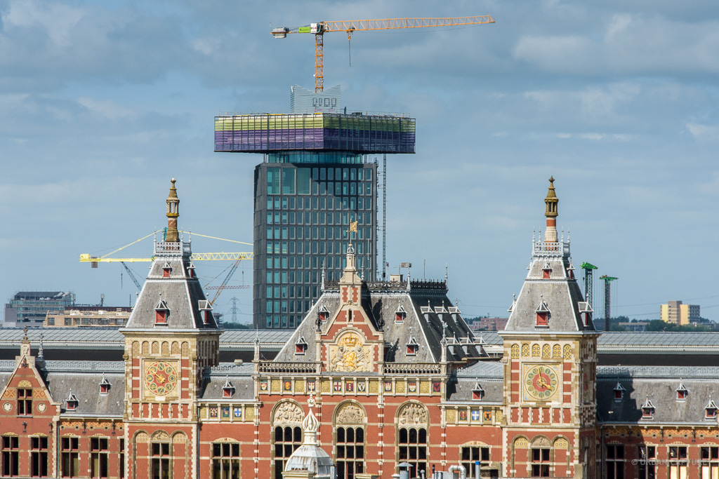 central train station  u0026 adam tower  amsterdam  the