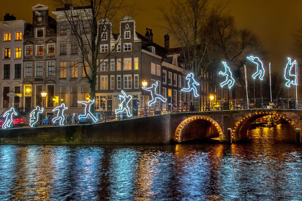 Run beyond amsterdam light festival herengracht for Herengracht amsterdam