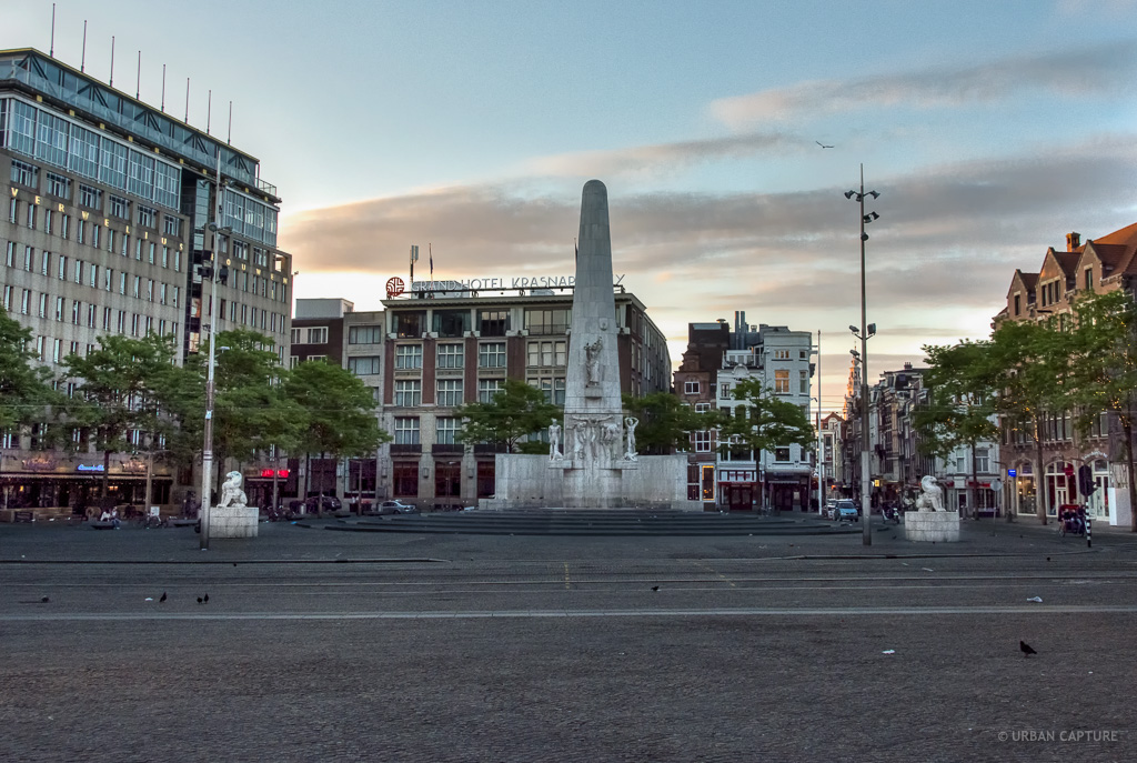 Monument dam square amsterdam the netherlands urban for Appartamenti piazza dam amsterdam