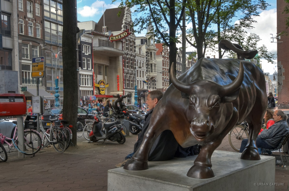 Kg Near Me >> Raging Bull, Beursplein, Amsterdam, The Netherlands ...
