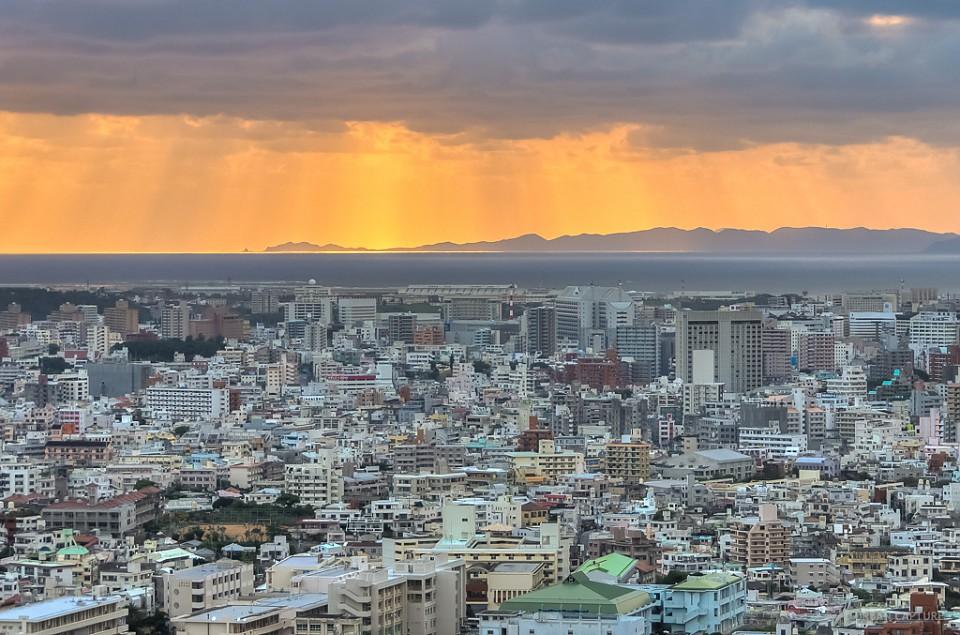 Naha City, Okinawa, Japan