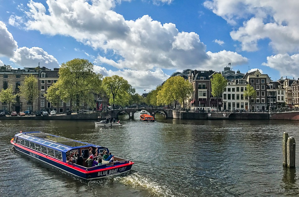 Nieuwe Herengracht-Amstel River, Amsterdam, The Netherlands