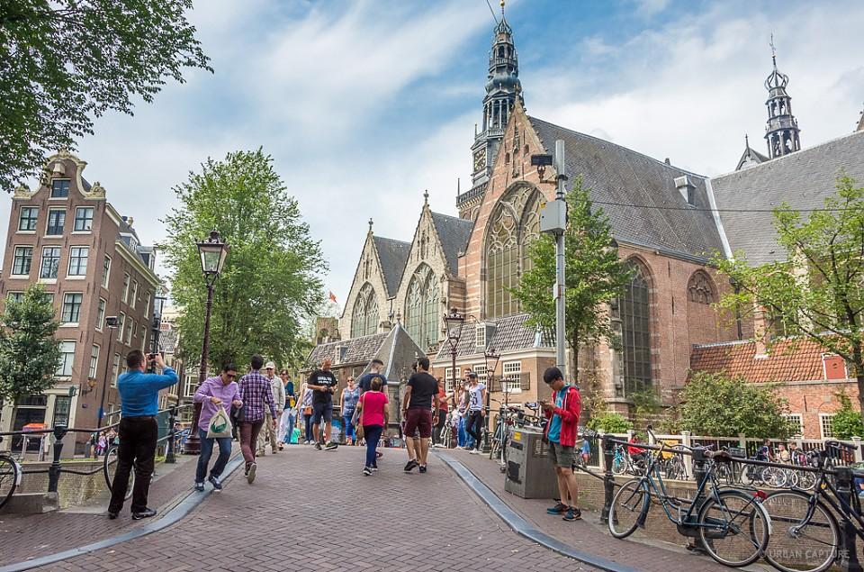 Oude Kerk, Oudezijdsvoorburgwal, Amsterdam, The Netherlands