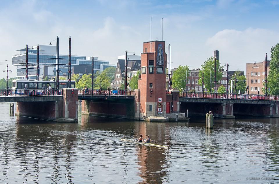 Weesperzijde, Amsterdam, The Netherlands