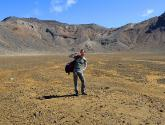 Tongariro National Park / Nog 14 kilometer te gaan...
