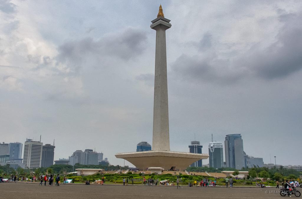 national monument  merdeka square  jakarta  java