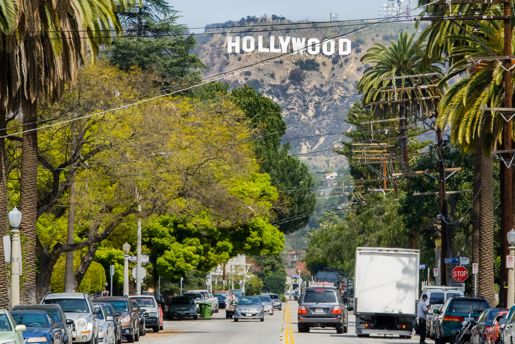 Hollywood Sign Los Angeles California United States Urban Capture Travel Photography