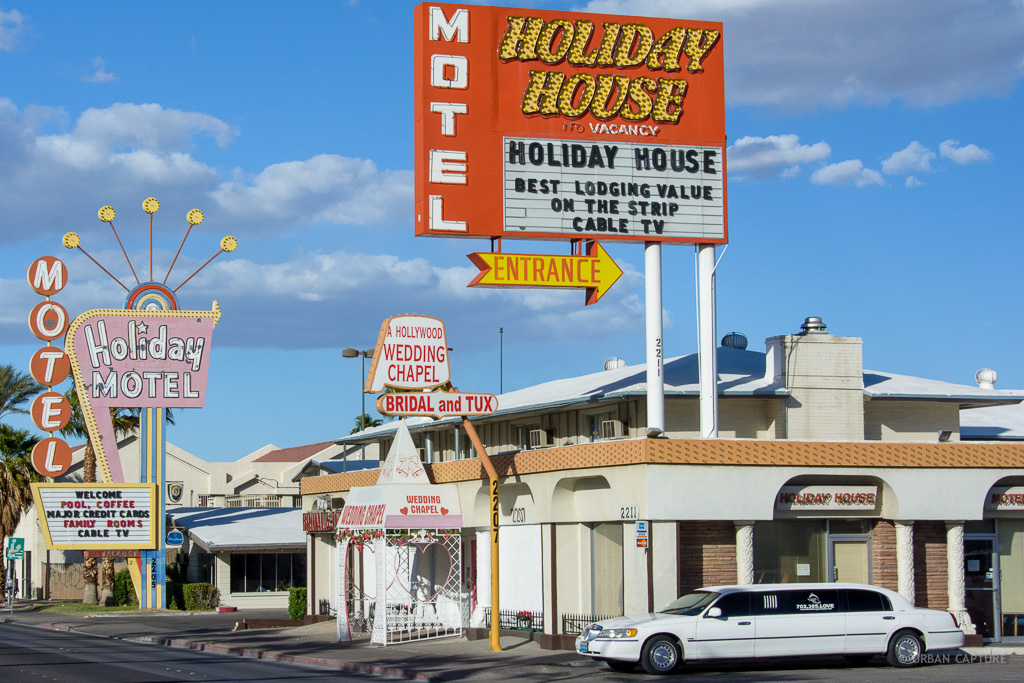 Wedding Chapel Hollywood Boulevard Las Vegas Nevada United States