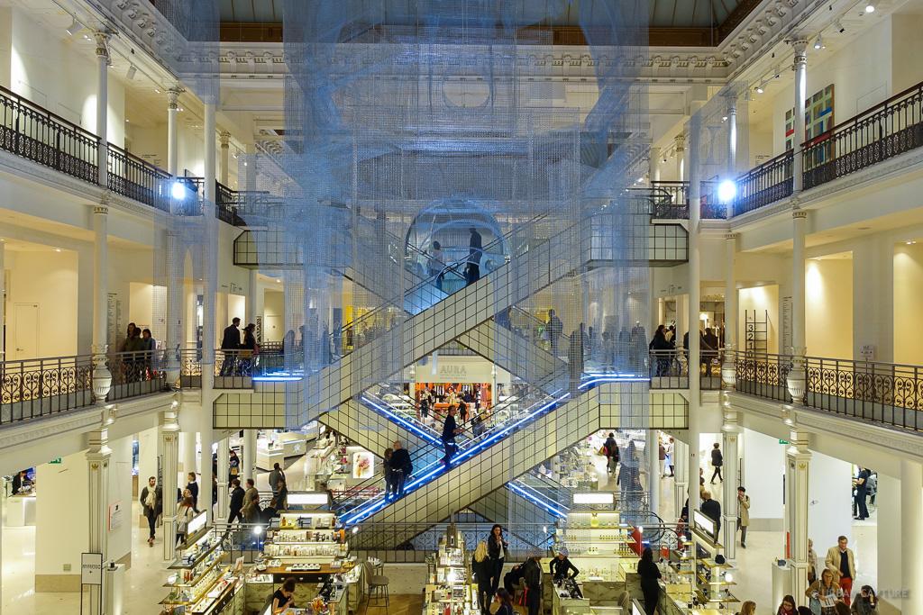 le bon marche department store  paris  france  u00ab urban
