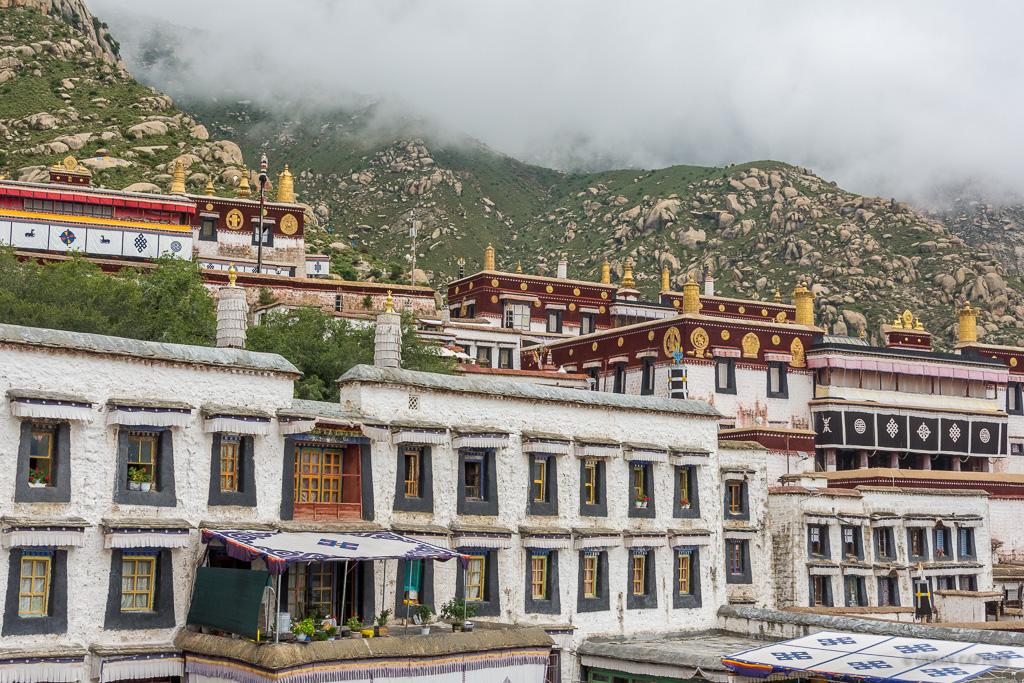 drepung monastery  lhasa  tibet  u00ab urban capture