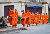 Day 89 | Alms Giving Ceremony, Luang Prabang, Laos